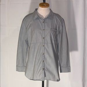 The North Face button up shirt size-L